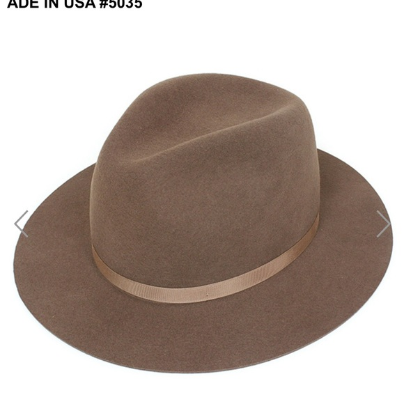 New York Hat Co. Accessories - New York Hat Co. Wool Fedora NWT